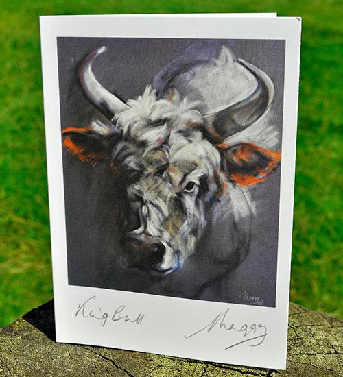 Notecard-The-King-Bull